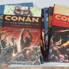 Cómics: CONAN LA LEYENDA ¡ CASI COMPLETA ! PLANETA. Lote 123260799