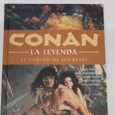 Cómics: CONAN LA LEYENDA Nº 11 - EL CAMINO DE LOS REYES- PLANETA. Lote 123262075