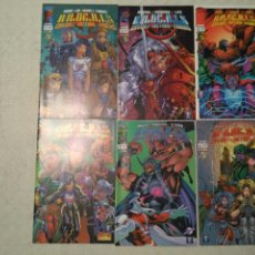 Cómics: WILDCATS VOLUMEN 2 #1-9 (MOORE, LEE, BROOME, KESSEL, FERRY,...). Lote 123287215