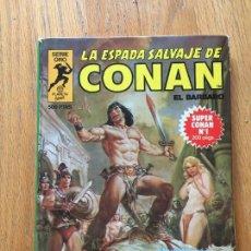 Cómics: LA ESPADA SALVAJE DE CONAN EL BARBARO, SUPER CONAN 1, PLANETA. Lote 123508379