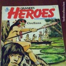 Cómics: GRANDES HEROES EL DESCUBRIMIENTO EL MUNDO 8 ORELLANA. Lote 123567391