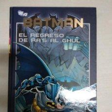 Cómics: BATMAN, EL REGRESO DE RAS AL GHUL - PLANETA COLECCION. Lote 123595319