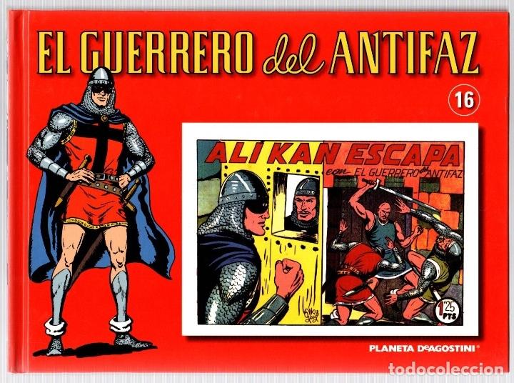 EL GUERRERO DEL ANTIFAZ. Nº 16. PLANETA DE AGOSTINI. AÑO 2012 (Tebeos y Comics - Planeta)