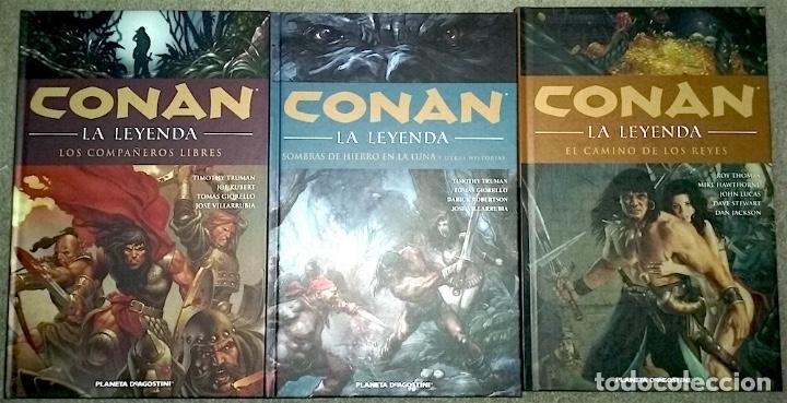 CONAN LA LEYENDA (LOTE TOMOS 9, 10 Y 11) (Tebeos y Comics - Planeta)