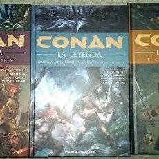 Cómics: CONAN LA LEYENDA (LOTE TOMOS 9, 10 Y 11). Lote 124934847