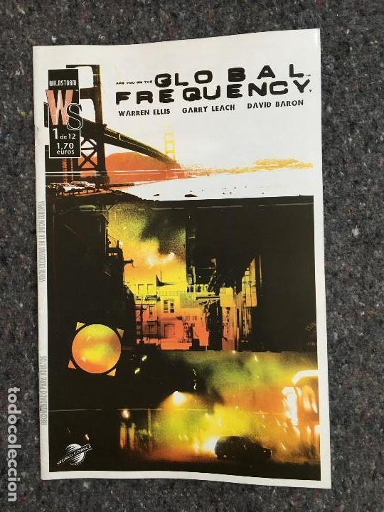 GLOBAL FREQUENCY Nº 1 - WARREN ELLIS & GARY LEACH (Tebeos y Comics - Planeta)