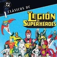 Cómics: CLASICOS DC LA LEGION DE SUPERHEROES Nº 1 - PLANETA - MUY BUEN ESTADO - OFI15T. Lote 125880159