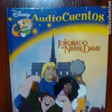 Cómics: DISNEY - AUDIO CUENTOS - EL JOROBADO DE NOTRE DAME - PLANETA DE AGOSTINI - COMIC. Lote 94759563