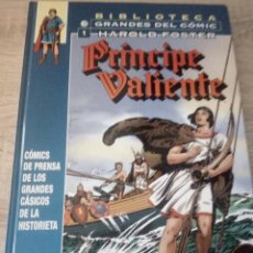 Cómics: PRÍNCIPE VALENTE Nº 1 - BIBLIOTECA GRANDES DEL CÓMIC 1937-1938 - PLANETA DE AGOSTINI - TAPA DURA. Lote 126087443