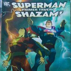 Cómics: SUPERMAN SHAZAM PRIMER TRUENO DC/ PLANETA DEAGOSTINI. Lote 126096419