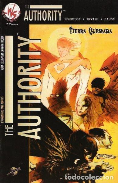 THE AUTHORITY: TIERRA QUEMADA (Tebeos y Comics - Planeta)