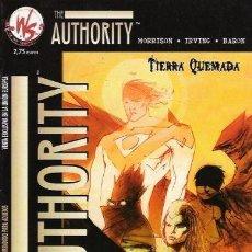 Cómics: THE AUTHORITY: TIERRA QUEMADA. Lote 147786988