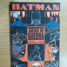 Cómics: BATMAN JUEGOS DE GUERRA #1 ESTALLIDO. Lote 126477751