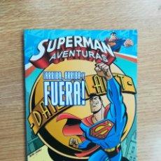 Cómics: SUPERMAN AVENTURAS #1 ARRIBA, ARRIBA Y AFUERA. Lote 126483323