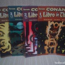 Cómics - CONAN Y EL LIBRO DE THOTH - 1 A 4 ¡¡COMPLETA!! - KURT BUSIEK / LEN WEIN / KELLEY JONES - 126940967