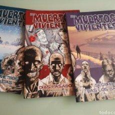 Comics: LOTE 3 COMICS LOS MUERTOS VIVIENTES N°1, 2 Y 3 DE PLANETA DEAGOSTINI (WALKING DEAD ). Lote 128086075