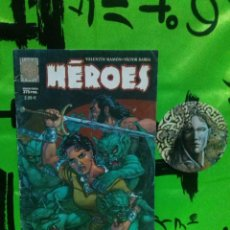 Cómics: COMIC HEROES - PLANETA *Nº UNICO*. Lote 128116391