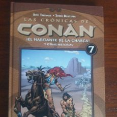 Cómics: LAS CRÓNICAS DE CONAN PLANETA TOMO N° 7 EL HABITANTE DE LA CHARCA. Lote 128199071