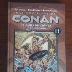 Cómics: LAS CRÓNICAS DE CONAN PLANETA TOMO N° 11 LA DANZA DEL CRANEO. Lote 128199171