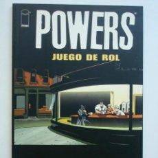 Cómics: POWERS - JUEGO DE ROL (BRIAN MICHAEL BENDIS). Lote 128229623