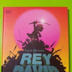 Cómics: REY DAVID POR KYLE BAKER EN TAPAS DURAS CON 160 PÁGINAS UNA OBRA IMPRESIONANTE NUEVO. Lote 128398267