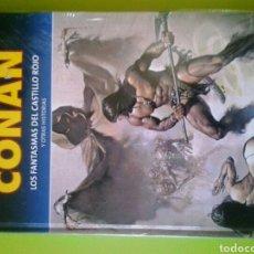 Cómics: LA ESPADA SALVAJE DE CONAN LOS FANTASMAS DEL CASTILLO ROJO NUEVO EN PLASTICO EDITORIAL PLANETA. Lote 128655007