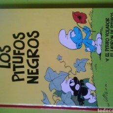 Cómics: LOS PITUFOS NEGROS N1 PEYO. Lote 128660271