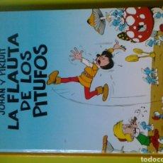 Cómics: LOS PITUFOS 2 JOHAN PIRLUIT LA FLAUTA DE LOS PITUFOS PEYO PLANETA DE AGOSTINI. Lote 128660558