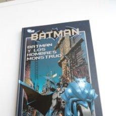 Cómics: 2 BATMAN - Y LOS HOMBRES MONSTRUO - COLECCION DC 75 Nº 02 (DC75) - PLANETA DEAGOSTINI 2010. Lote 128637667