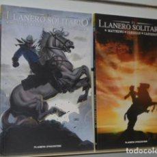 Cómics: EL LLANERO SOLITARIO COMPLETA 2 TOMOS - PLANETA - OFERTA (ANTES 24,95€). Lote 128737979