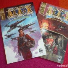 Cómics: STAR WARS ALA X ESCUADRON REBELDE LA OPOSICION REBELDE 1 Y 2 ¡COMPLETA! ¡MUY BUEN ESTADO! PLANETA . Lote 129575071