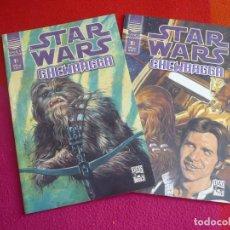 Cómics: STAR WARS CHEWBACCA 1 Y 2 ( DARKO MACAN ) ¡COMPLETA! ¡MUY BUEN ESTADO! PLANETA . Lote 129575147