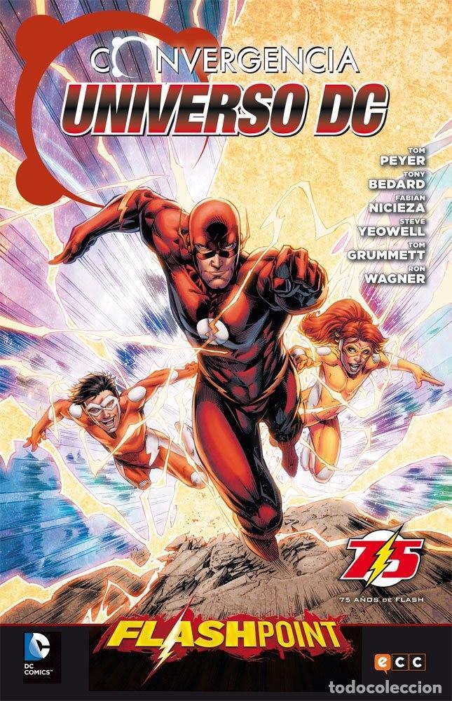 CONVERGENCIA UNIVERSO DC FLASHPOINT - ECC EDICIONES DC (Tebeos y Comics - Planeta)