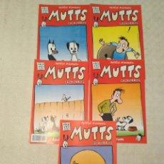 Cómics: MUTTS (CACHORROS) - PATRICK MCDONNELL - LOTE DE 5 NÚMEROS. Lote 129706830