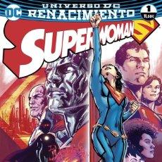 Cómics: SUPERWOMAN RENACIMIENTO - TOMOS 1 Y 2 - ECC PHIL JIMENEZ STEPHEN SEGOVIA E. LUPACCHINO. Lote 130089599