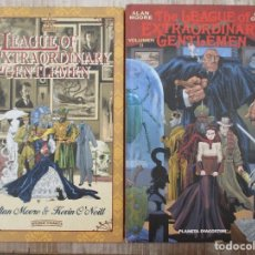 Cómics: COLECCION COMPLETA THE LEAGUE EXTRAORDINARY GENTLEMEN DOS TOMOS ALAN MOORE KEVIN O´NEILL. Lote 130428546