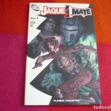 Cómics: JAQUE MATE Nº 1 ( GREG RUCKA JESUS SAIZ ) ¡MUY BUEN ESTADO! PLANETA DC. Lote 130536622