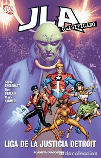 JLA CLASIFICADO Nº 4 LIGA DE LA JUSTICIA DETROIT - PLANETA - IMPECABLE - OFI15T (Tebeos y Comics - Planeta)