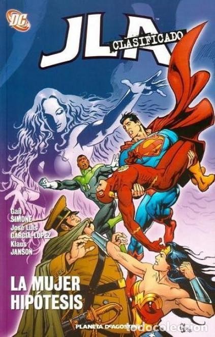 JLA CLASIFICADO Nº 3 LA MUJER HIPOTESIS - PLANETA - IMPECABLE - OFI15T (Tebeos y Comics - Planeta)