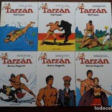 Cómics: TARZAN PLANETA LOTE DE 5 TOMOS HAL FOSTER BURNE HOGARTH Nº 2, 4, 7, 8 Y 9. Lote 130816936