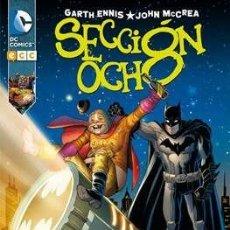 Cómics: SECCIÓN OCHO - TOMO ECC - GARTH ENNIS JOHN MCCREA. Lote 130939588