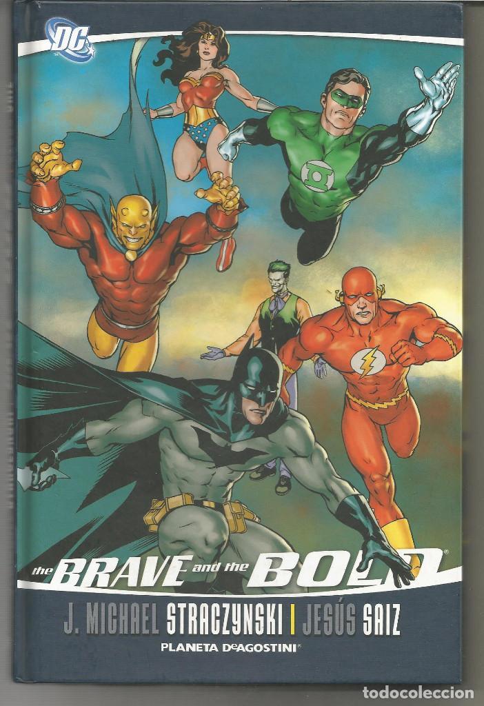 BRAVE AND THE BOLD DE J. MICHAEL STRACZYNSKI PLANETA DEAGOSTINI (Tebeos y Comics - Planeta)