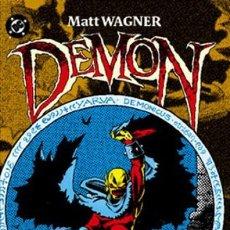 Cómics: DEMON DE MATT WAGNER - PLANETA - IMPECABLE - OFI15T. Lote 131625038