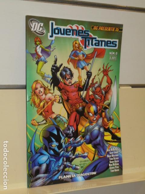 DC PRESENTA 15 - JOVENES TITANES Nº 8 - PLANETA (Tebeos y Comics - Planeta)