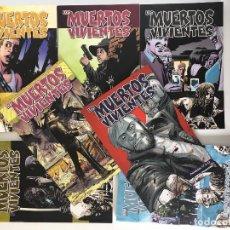 Cómics: LOS MUERTOS VIVIENTES Nº 11, 12, 13, 14 Y 15 DE ROBERT KIRKMAN Y CHARLIE ADLARD. PLANETA.. Lote 131701074