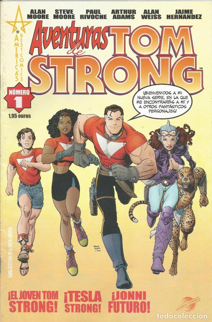 LAS AVENTURAS DE TOM STRONG Nº 1 PLANETA DEAGOSTINI (Tebeos y Comics - Planeta)