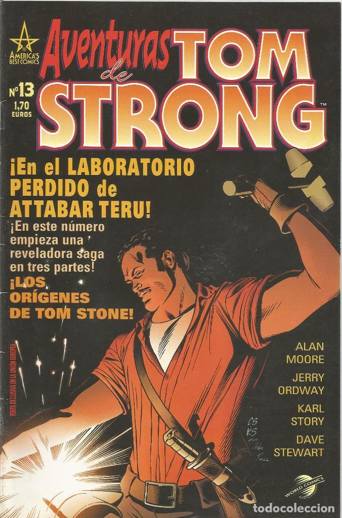 LAS AVENTURAS DE TOM STRONG Nº 13 PLANETA DEAGOSTINI (Tebeos y Comics - Planeta)