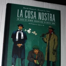 Cómics: LA COSA NOSTRA Nº 01: UN SIGLO DE CRIMEN ORGANIZADO EN NUEVA YORK. PRIMERA ÉPOCA (OFERTON 30% DESC.). Lote 131791662