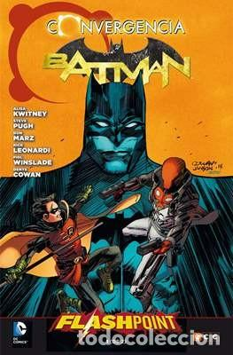 CONVERGENCIA. BATMAN. FLASHPOINT TOMO 1 - ECC - MARZ LEONARDI WINSLADE PUGH COWAN (Tebeos y Comics - Planeta)