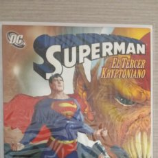 Cómics: SUPERMAN EL TERCER KRYPTONIANO RÚSTICA (KURT BUSIEK-WALTER SIMONSON-DAN GREEN-RICK LEONARDI) PLANETA. Lote 132495210